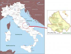 Abruzzo İtalya'nın Neresinde ?