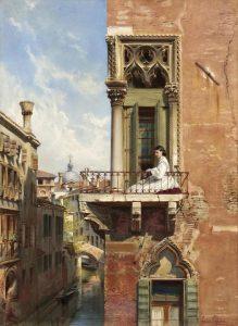 Venedik'teki O Balkon – Anna'nın Vedası